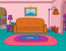 Living Room Coloring Cartoon Living Room Cartoon Room Living Room Coloring Simple
