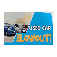 Image result for pre owned car blow out