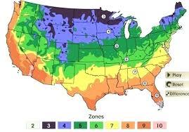 garden zone plant hardiness planting zones usa 2018 garden zone
