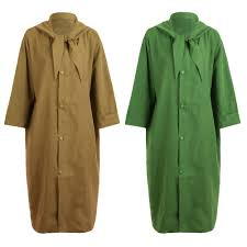 fashion women hooded trench coat long sleeve casual loose solid street outerwear long coat large size green khaki