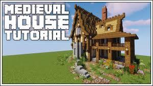 Minecraft Medieval House Designs Minecraft Medieval House Tutorial