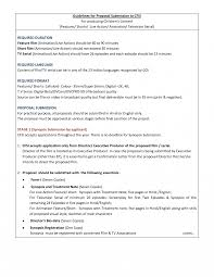Film Proposal Template Filmposal Template Dissertation Examples Documentary Sample 4