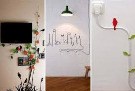 20 creative diy ideas to hide the wires in the wall room amazing