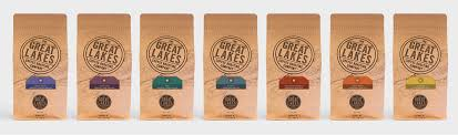 Want to know what's brewing? Great Lakes Coffee Seeds Marketing Design