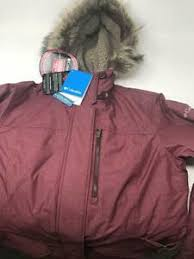 Details About New Other Columbia Womens Carson Pass Ic Jacket Medium Burgundy Faux Fur Fleece