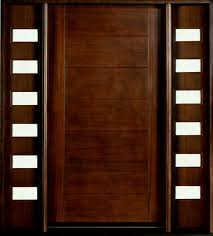 mahogany front door. Modern Front Door Custom Single With Sidelites Solid Wood Main Design Big Mahogany Entry Jali Home