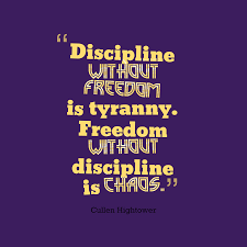Cullen Hightower Quote About Discipline