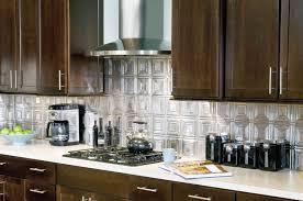 Kitchen Backsplash Tin Metallaire Small Panels Backsplash Metallaire Collection Tin Metal