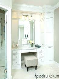 makeup bathroom vanity with seating area dimensions creative of and best master bath ideas mirror height