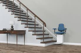 chair lift elderly. Stair Lift At The Bottom Of Staircase Chair Elderly R
