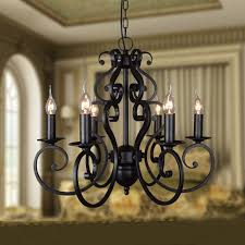 pare s on wrought iron candle chandelier ping part 23