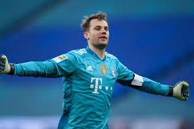 Herzlichen glückwunsch, @manuel_neuer!#neuer #diemannschaft pic.twitter.com/p9ytxifyuf. Manuel Neuer Jokes About His Net Repair Skills Reacts To Bayern Munich S 1 0 Win At Rb Leipzig Bavarian Football Works