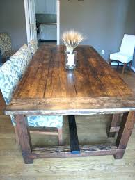 diy rustic dining table how to build a rustic dining table rustic farmhouse dining room table