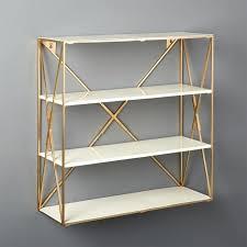 white wall shelves smith large brass shelf unit ikea