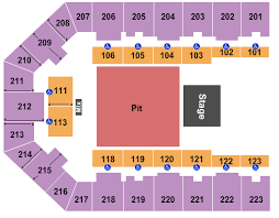 Appalachian Wireless Arena Seating Chart Black Stone Cherry Tickets Sun Nov 24 2019 7 30 Pm At