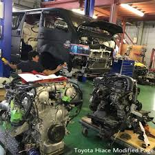 Black beast going to get GTR engine😱😱... - Toyota Hiace Modified ...
