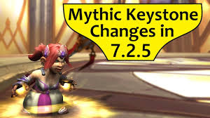 Mythic Rewards Chart Mythic Plus Changes In Patch 7 2 5