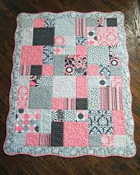 Cute Baby Quilts To Make Cute Baby Blankets To Make Quilt For Baby ... & Cute Baby Quilts To Make Cute Baby Blankets To Make Quilt For Baby Girl  Scalloped Border Adamdwight.com