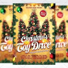 Free Christmas Flyer Templates Download Download Toy Drive Free Seasonal Flyer Template Now