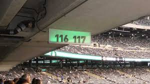Metlife Stadium Football Seating Chart New York Jets Section 117 Jetsseatingchart Com