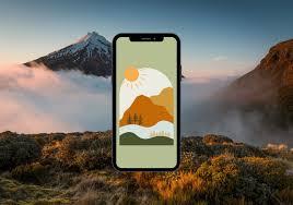 iPhone Wallpaper Boho Phone Wallpaper ...