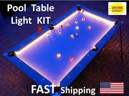 billiard room lighting. LED Pool \u0026 Billiard Table Lighting KIT - Game Room Light Your VIKING Cue   EBay