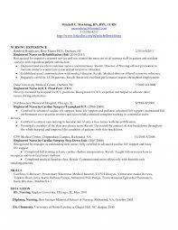Nurse Anesthetist Resume Anesthesia Example Sample Format