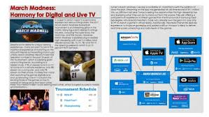 Newletter Example Newsletter Example March Madness