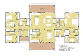one story floor plans with 2 master suites