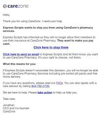 Express Scripts Customer Service Express Scripts Boots Another Online Pharmacy Carezone