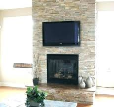 refacing brick fireplace with stone veneer redo fireplace with stone veneer stone veneer fireplace cost brick