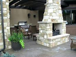 double sided outdoor fireplace indoor wood burning