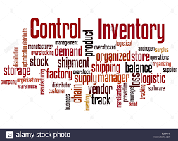 Word Inventory Inventory Control Word Cloud Concept On White Background