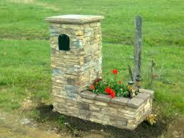 stone mailbox designs. Stone Mailbox Planter Home Pinterest Designs