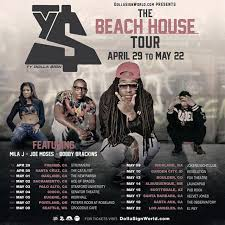 Ty Dolla Sign Announces Line Up For U0027The Beach Houseu0027 Tour  Young Beach House Tour