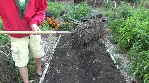 how to set up core garden bed core gardening method