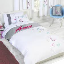personalised erfly duvet cover with pillow case bedding