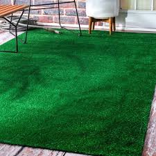 fake grass rug. NuLOOM Artificial Grass Outdoor Lawn Turf Green Patio Rug Fake R