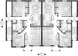 neoclassical home plan first floor 032d 0380 house planore