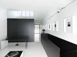 track lighting on wall. Minimalist-interiors-with-a-long-gallery-wall-illuminated- Track Lighting On Wall P