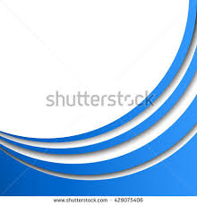 stylish page abstract blue circular stripes vector background stock vector 2018