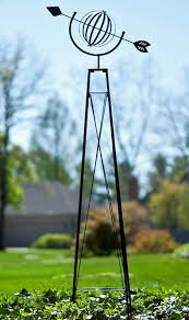 direct attention to your yard or landscaping using the panacea armillary garden obelisk bining the clic lines of an armillary sphere with the height
