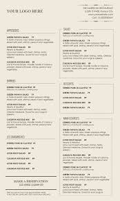 Microsoft Word Restaurant Menu Template Design Templates Menu Templates Wedding Menu Food Menu bar 1