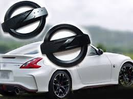 nissan 350z matte black. matte black z emblem fender badge car body side skirt sticker 350z 370z z34 nissan 350z