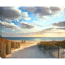 articles with beach scene wall art canvas tag beach wall