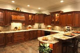 cherry glazed kitchen cabinets rta cabinet best rta kitchen cabinets