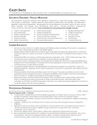 Cover Letter Electrical Engineer Sample Resumes For Electricians