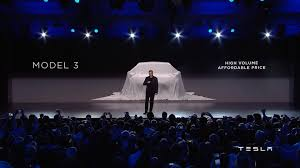 new car launches eventsTesla Unveils Model 3  YouTube