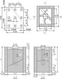 Pile Group Design Bridge Pile Group Foundation Model And Model Tank Dimension
