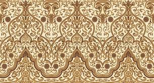 Arabic Patterns Interesting Seamless Texture With Luxury Arabic Ornament Vector Vintage Pattern